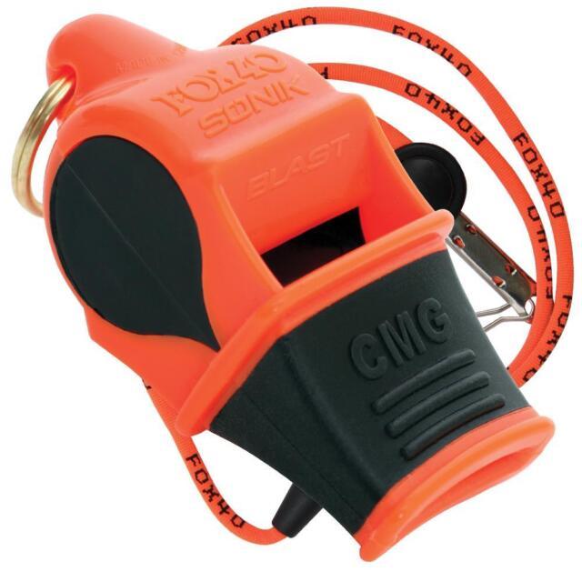 fox 40 sonik blast  Buy Fox 40 Sonik Blast CMG Whistle Fo3308 online | eBay