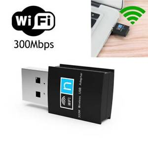 Mini USB 300MBPS WIFI Adapters PC Laptop Dongle Wireless Network Adapters WLAN