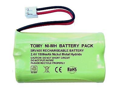 Tomy Digital Plus Baby Monitor Rechargeable Battery NIMH 2.4V 950mAh LP175N