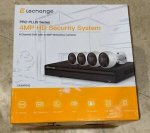 Details about LeChange 8-Channel 2TB DVR Security System w/ 4 x 4 MP  MotionEye Cameras