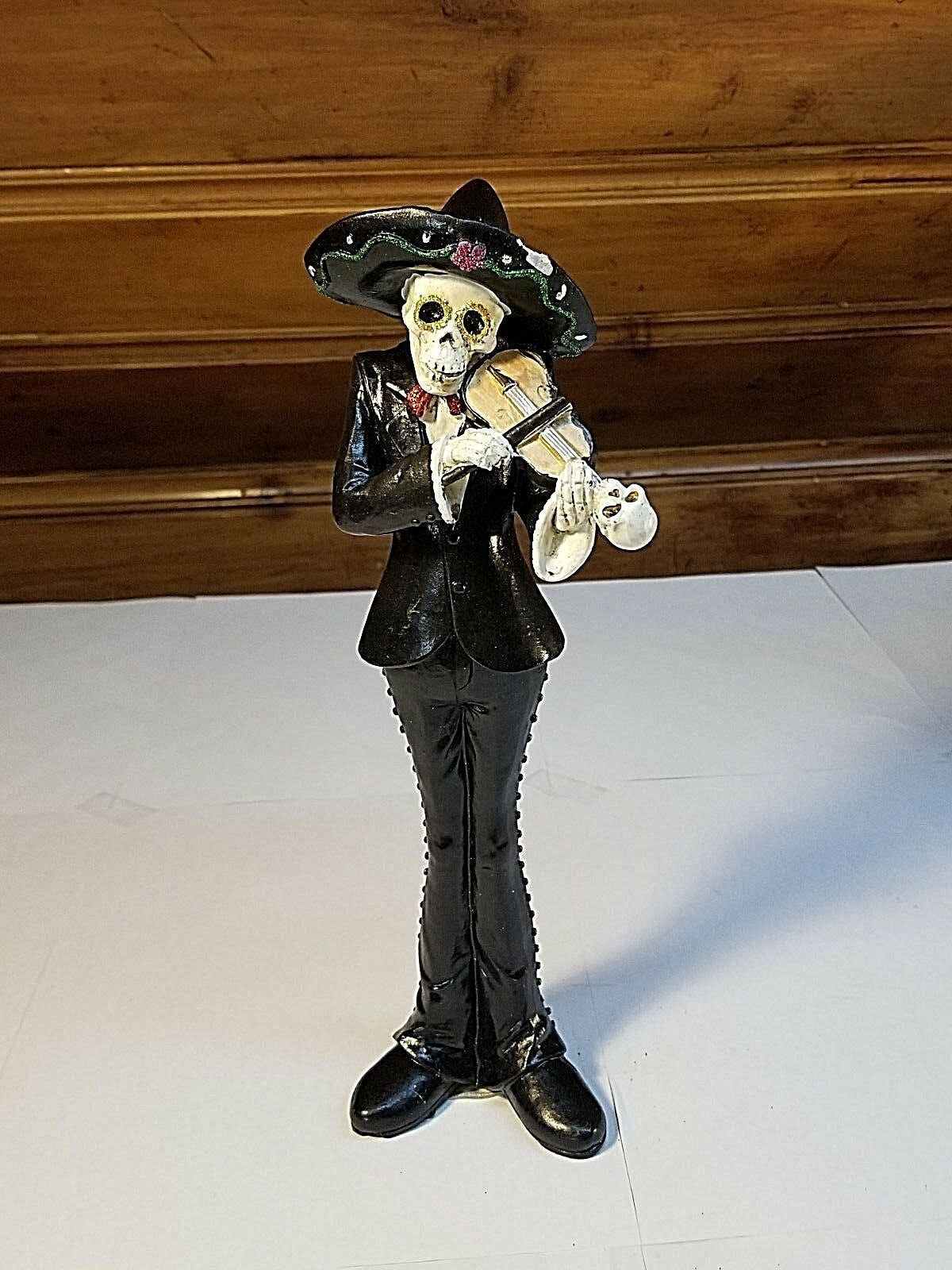 Day of the Dead Sugar Skull Statues- Halloween Figurine - Your Choice
