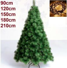 Arbol de navidad 90, 120, 150, 180, 210 cm pino verde clásico...