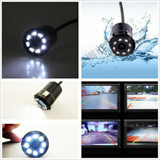 Car SUV Rearview Backup Parking 170°Wide-angle 8LED Light Night Vision HD Camera