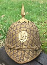 RARE Antique Masonic Fraternal Organization Costume Ceremonial Hat Helmet Gear