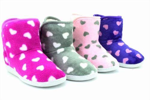 Slippers Womens Warm Indoor Slipper Boots Ladies Booties Size 3 4 5 6 7 8