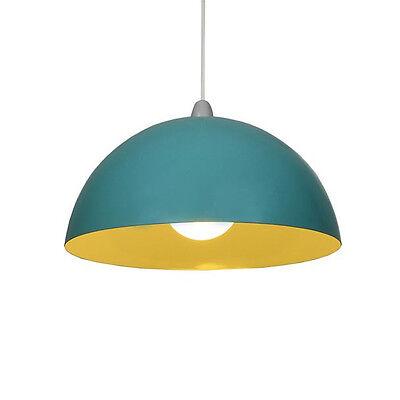 Vintage Colorful Metal Lamp Shade Ceiling Light Fixture Pendant Retro Chandelier