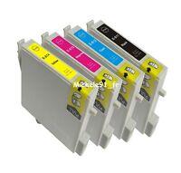 4 Encres Non-oem Pour Epson Dx3850 Plus D88 Imprimante