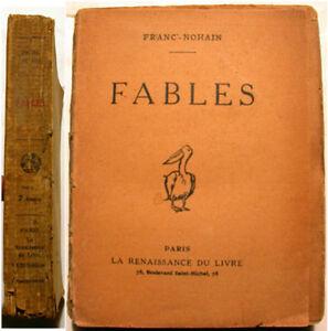 FABLES-FRANC-NOHAIN-LA-FONTAINE-ED-RENAISSANCE-1925