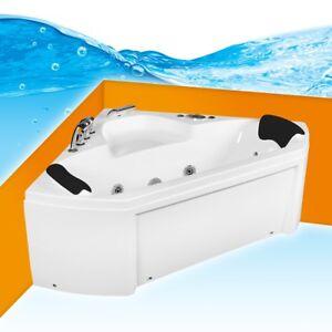 whirlpool pool f r 2 personen badewanne eckwanne wanne a1402r 135x135 ebay. Black Bedroom Furniture Sets. Home Design Ideas