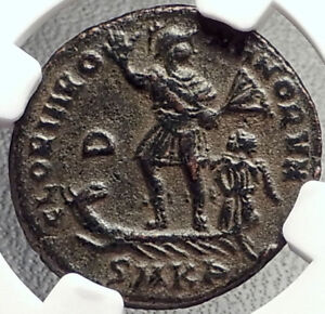 VALENTINIAN-II-on-GALLEY-Authentic-Ancient-378AD-Roman-Coin-NGC-CERTIFIED-i69177