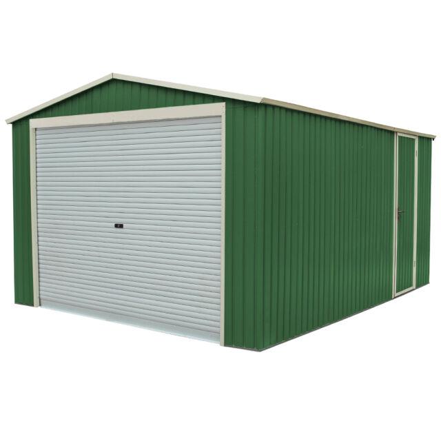 Box casetta per giardino esterno lamiera zincata ripostiglio 311x411xh205cm xxl