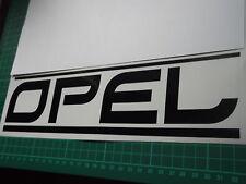 OPEL panel skirt car vinyl sticker decal x2