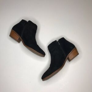 Jack Rogers Bailee Suede Ankle Bootie