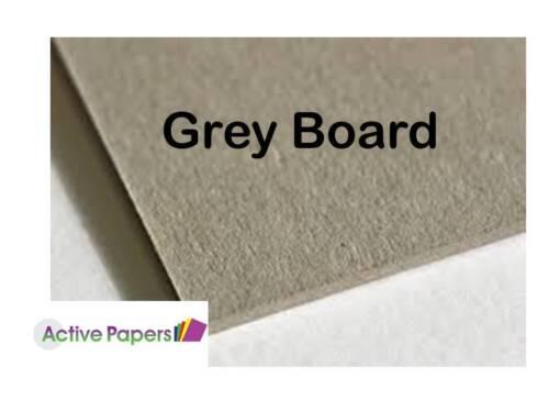 Greyboard Super Grueso 3mm 3000 micras A5 A4 A3 o montaje de frontera Plus Para//Post