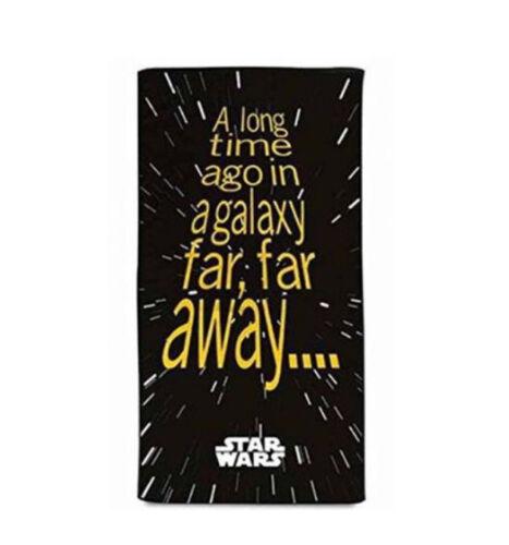 Officiel Star Wars titres Plage Serviette De Bain Nouveau 100/% coton 140 cm x 70 cm
