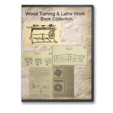 Wood Turning Woodwork Lathe Work Pattern Making Woodworking - 22 Books CD - B509