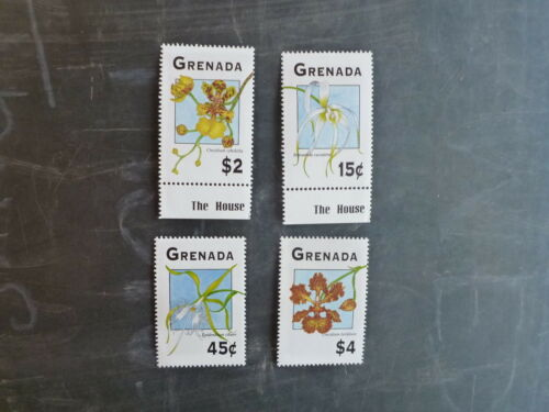 1994 GRENADA ORCHIDS SET 4 MINT STAMPS MNH