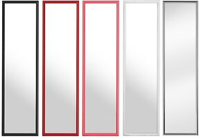 Image Is Loading Over Door Mirror Black Red Hot Pink White