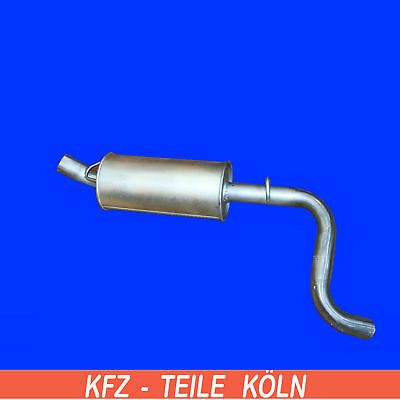 66-72 Auspuff Auspuffanlage Schalldämpfer Opel Rekord C 1,7 1,9L Bj
