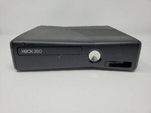 Microsoft Xbox 360 Slim Model 1439 Black Console No Hard Drive Stick Disc Tray