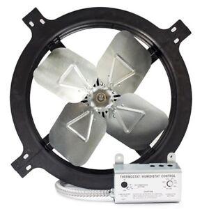 Air Vent Gable Mounted Power Fan Ebay