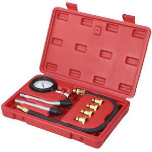 Manometro tester kit auto benzina gas motore cilindro compressione pressione tester strumento auto strumento diagnostico Automotive test kit 0/ /300PSI