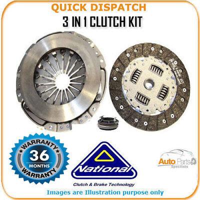 3 In 1 Clutch Kit Per Vauxhall Corsa Ck9120- Rafforzare L'Intero Sistema E Rafforzarlo