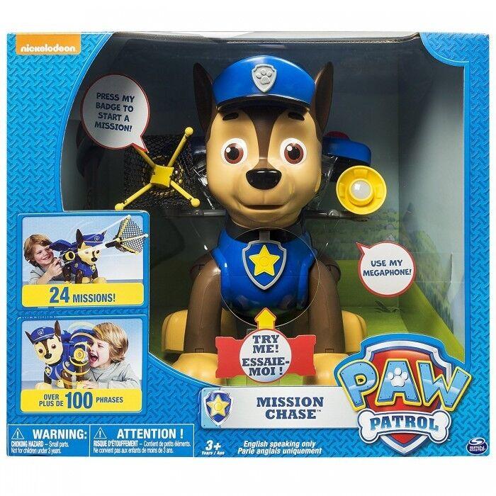 Paw Patrol – Mission Chase – Large Talking Nickelodeon Nick Jr