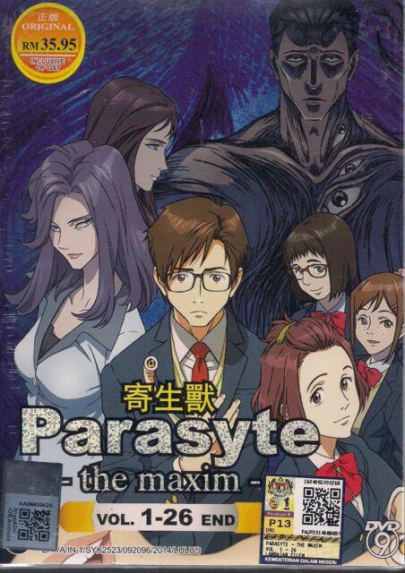 Parasyte The Maxim Vol. 1-26 end Japan Anime DVD New Box Set English Subtitle