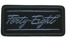 HARLEY DAVIDSON EMBROIDERED Forty-Eight JACKET VEST PATCH