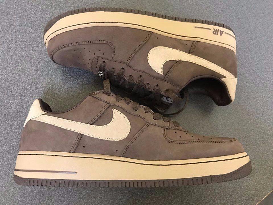 Nike Air Force 1 Premium Baroque Brown/Chino 309096-221 Sz. 13