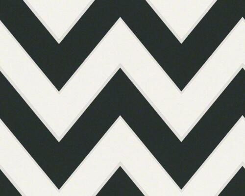 Vliestapete Michalsky High Rise Grafik Streifen schwarz weiß 93943-1 2,64€//1qm