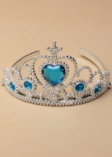 Childrens Snow Queen Ice Princess Tiara and Wand