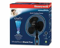Honeywell Quietset 16 Stand Fan - Black , New, Free Shipping on sale