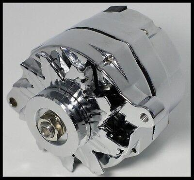 Chrome Plated GM Alternator CS130 Series Serpentine Belt 1-Wire 110 Amp, 777-C