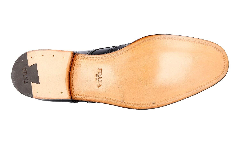 Zapatos PRADA LUXUEUX 2EB153 marrón NOUVEAUX 11 11 11 45 45,5 db56b6