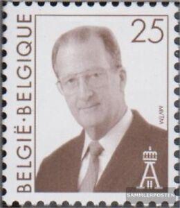 Belgien-2806-kompl-Ausg-postfrisch-1998-Koenig-Albert-II