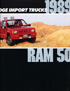 1991 Dodge Truck 34-page Sales Brochure Catalog Ram Ramcharger Dakota 50
