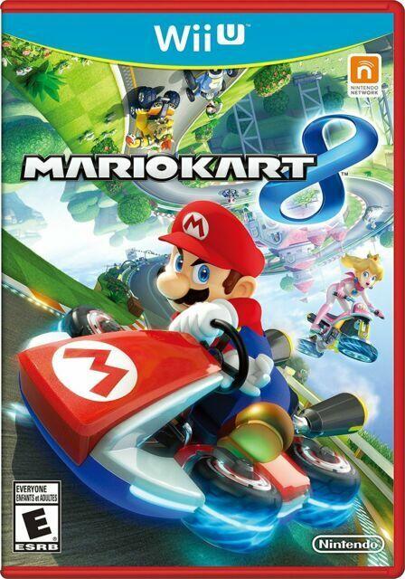 Mario Kart 8 Wii U, 2014  - $13.99