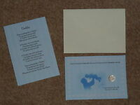 DADDY'S FATHERS DAY/BIRTHDAY LUCKY SIXPENCE & POEM IDEAL KEEPSAKE