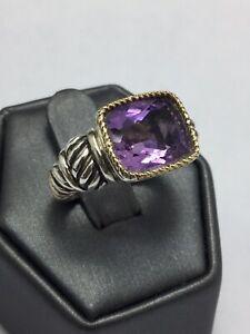 Effy-Sterling-Silver-10k-Gold-Amethyst-Gemstone-Ring-GB-E786