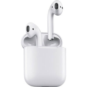 cheap for discount 11866 fd573 Details about Apple AirPods with Charging Case White MMEF2AM/A Airpod 1st  Gen