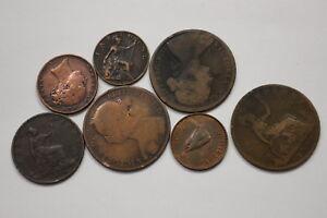 UK-GB-OLD-COINS-LOT-B10-ZM21
