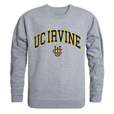 University Of California UC Irvine Anteater Hoodie College Sweatshirt S-2XL Grey