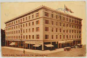 Hotel-Country-Sacramento-Downieville-1911-Pnc-USA-Postcard-Ak-Postcard-A2500