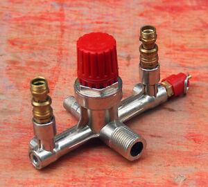 Business & Industrie Hydraulik, Pneumatik & Pumpen Responsible Druckregler Ventil Auflager Für Druckluft Kompressor Druckschalter Druckwächter