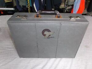"""Vintage Colorado Tech Suitcase Gray Grey 13"""" x 18"""" x 5.5"""" 8500"""