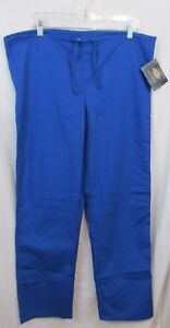 6336a9f4949 Dickies Draw String Scrub Pants Small Royal Blue Style New With Tag ...