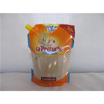 Perruche französischer brauner Rohrzucker Cassonade 750 g