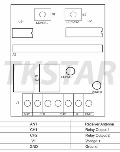 Aiguille Descaler attachement Pièce No 6413 par laser-NEUF